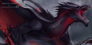 Dragon Vizaell Vulom by IrenBee