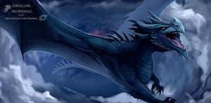 Dragon Morraug by IrenBee