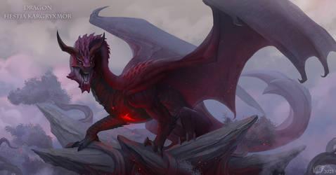 Dragon Hestia Kargryxmor (commissions)