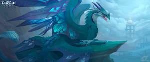 Genshin Impact Dvalin Stormterror Dragon