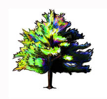 Green Tree by Aerthemis