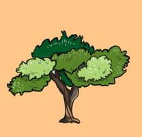 Another green tree by Aerthemis