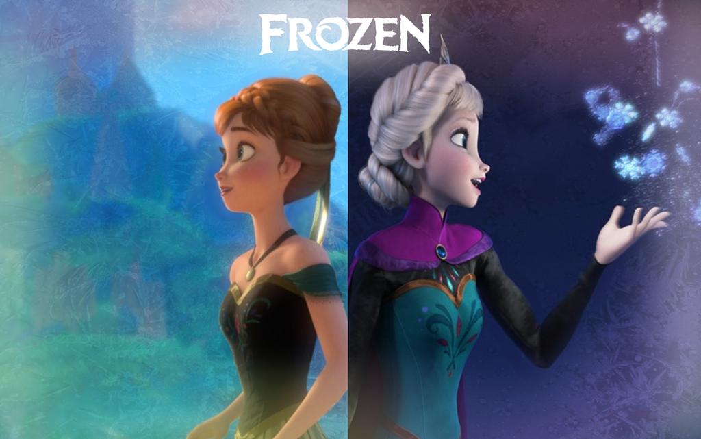 Anna And Elsa Wallpaper By Miss Ellanius