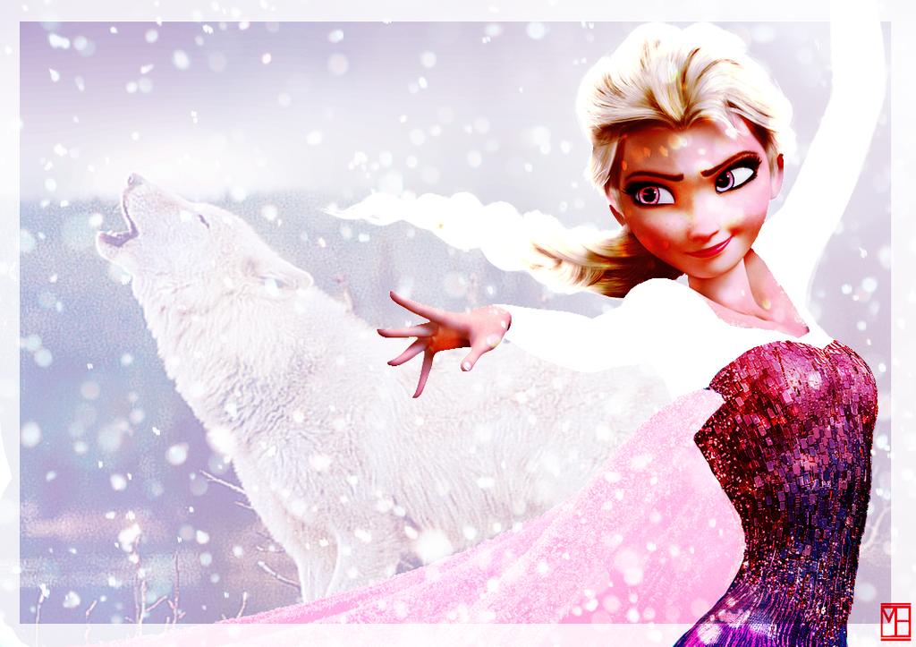 Wolf Elsa by Miss-Ellanius