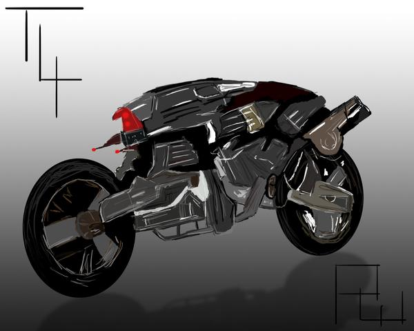 terminator bike t4 by peewee1002 on deviantart