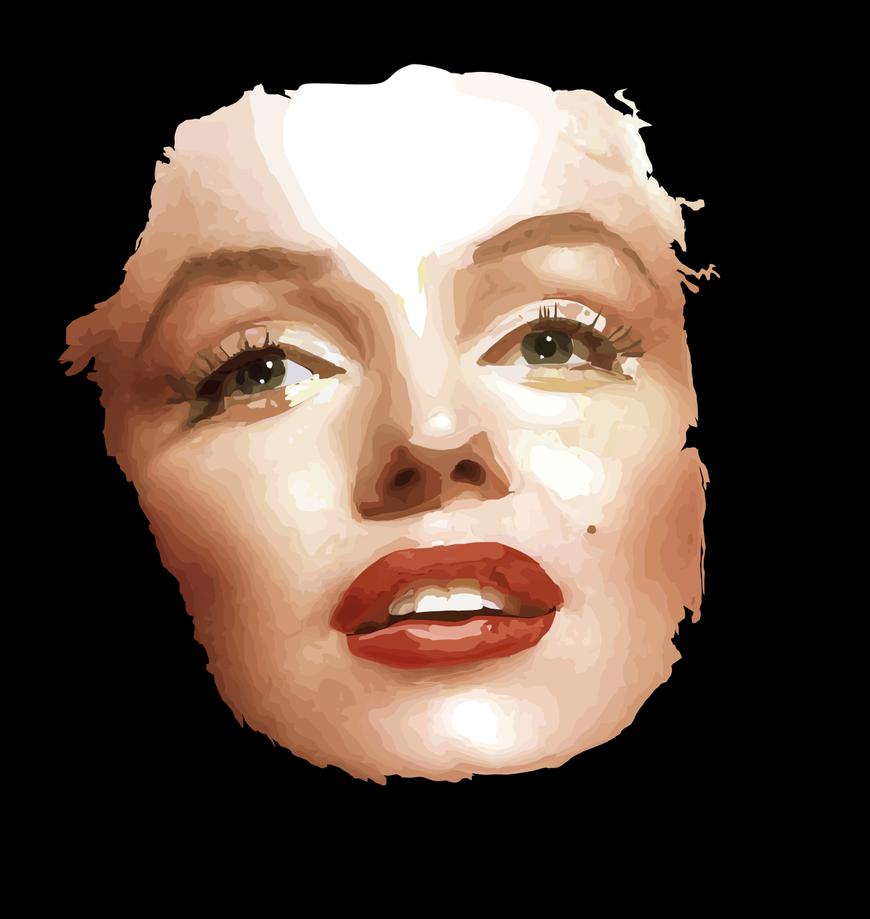 Marilyn Monroe by peewee1002