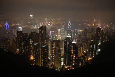 Hong Kong Island by peewee1002