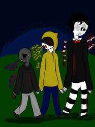 My Crackship Slender Brothers by PurpleNIGHTMARE15234