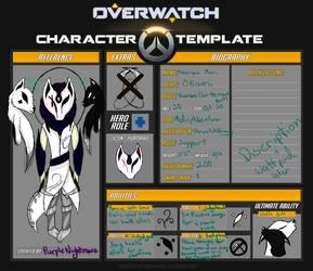 :Overwatch OC: Okami by PurpleNIGHTMARE15234