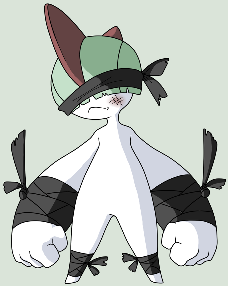 PKMNation - Fighting Ralts by Kamajii-the-mog