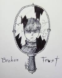 Inktober 2018 - Day 20: Breakable
