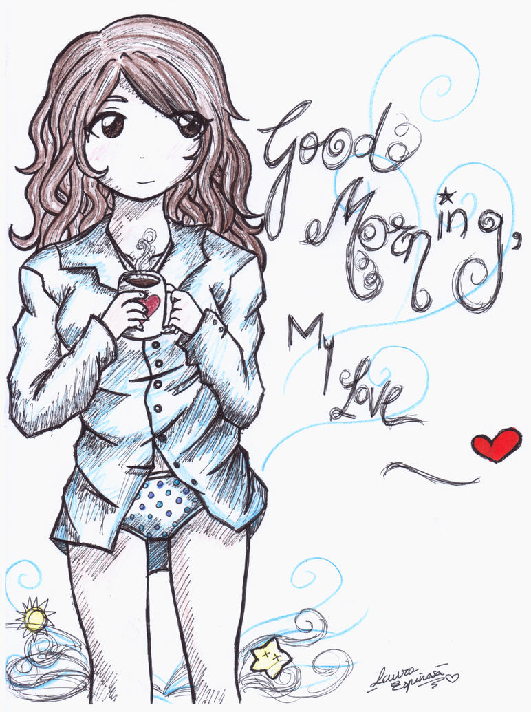 Good Morning My Love Cartoon Images : Good morning my love by lauespi on deviantart