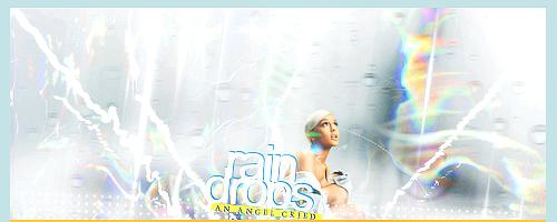 Raindrops Signature by DarkRainbowIllusion