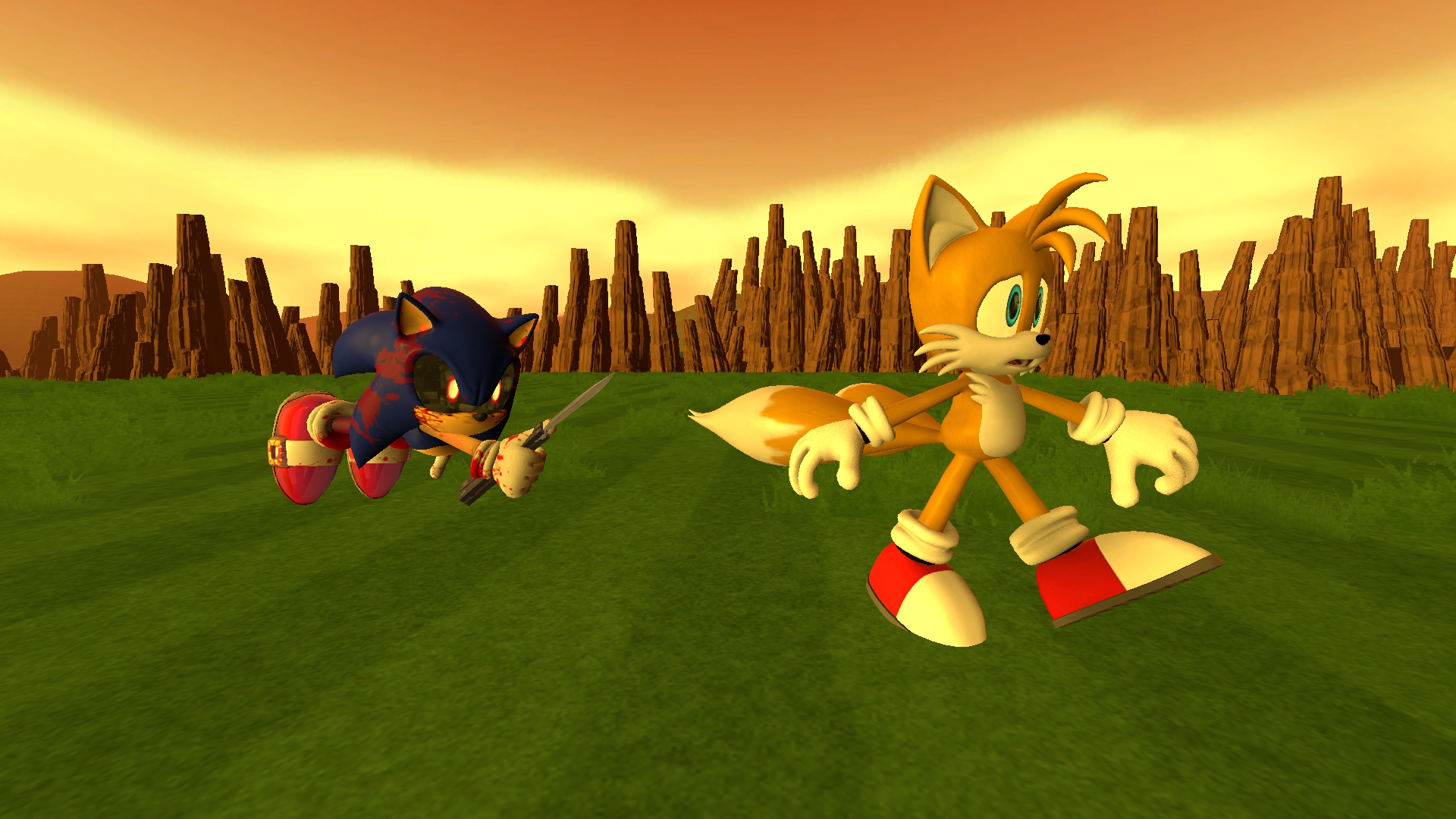 Anti Sonic Exe – HD Wallpapers