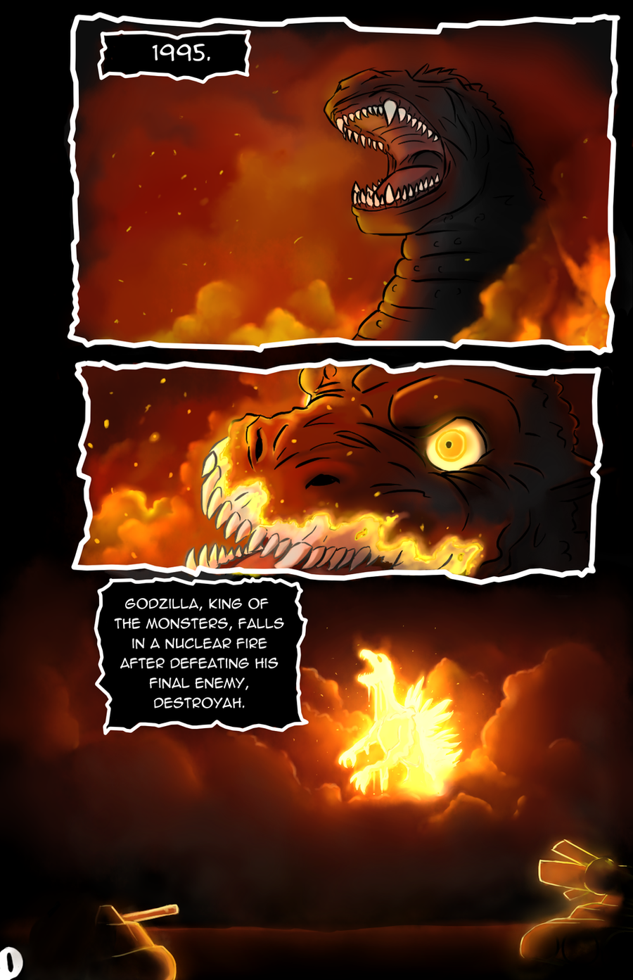 Godzilla Triumphant (2.0) - Page 1 by kaijukid