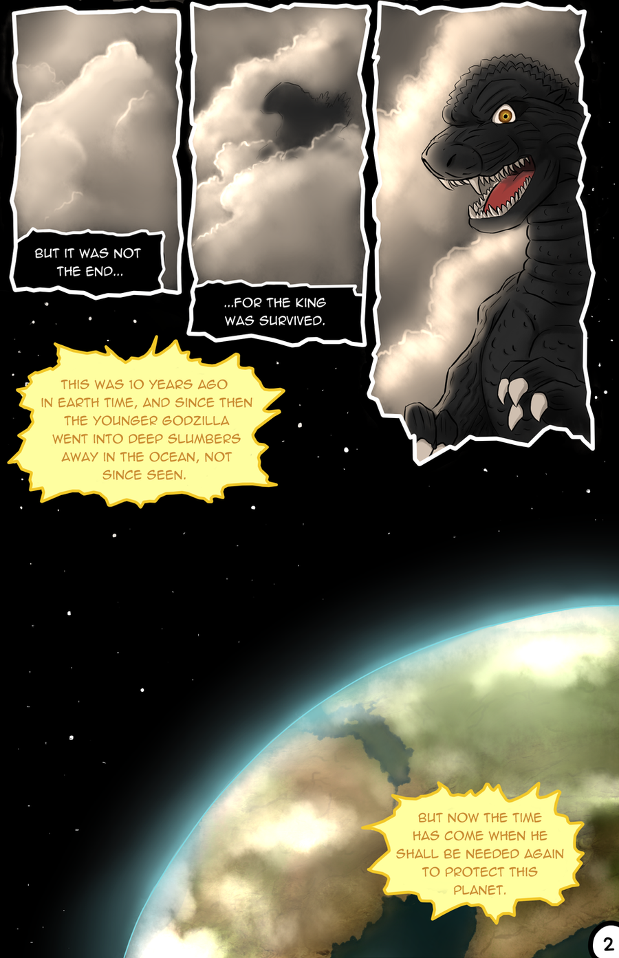 Godzilla Triumphant (2.0) - Page 2 by kaijukid