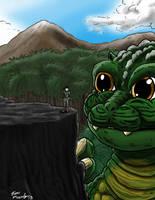 LittleG's New Best Friend by KaijuKid