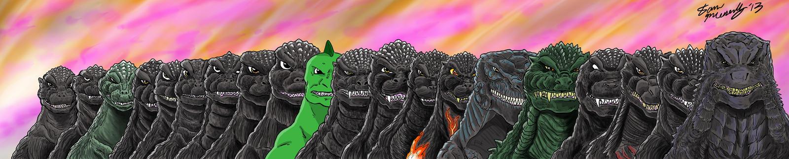 Godzilla Legends Godzilla 2014 Deviant Art Selection