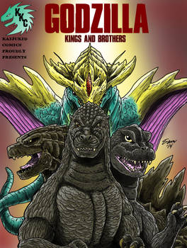 Godzilla: Kings and Brothers,Graphic Novel Cover