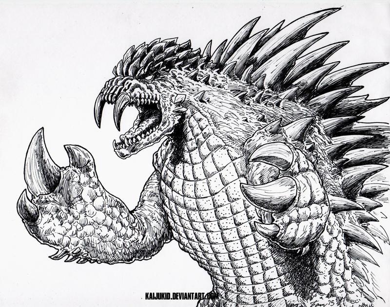 Angora Comic Monster Concept: Drakosaur by kaijukid