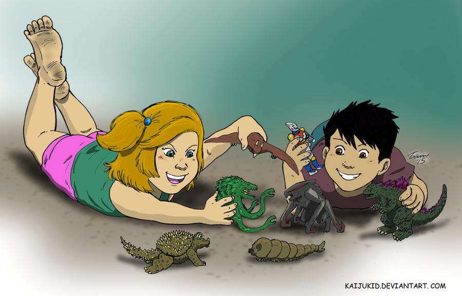 Kaiju Kids by kaijukid
