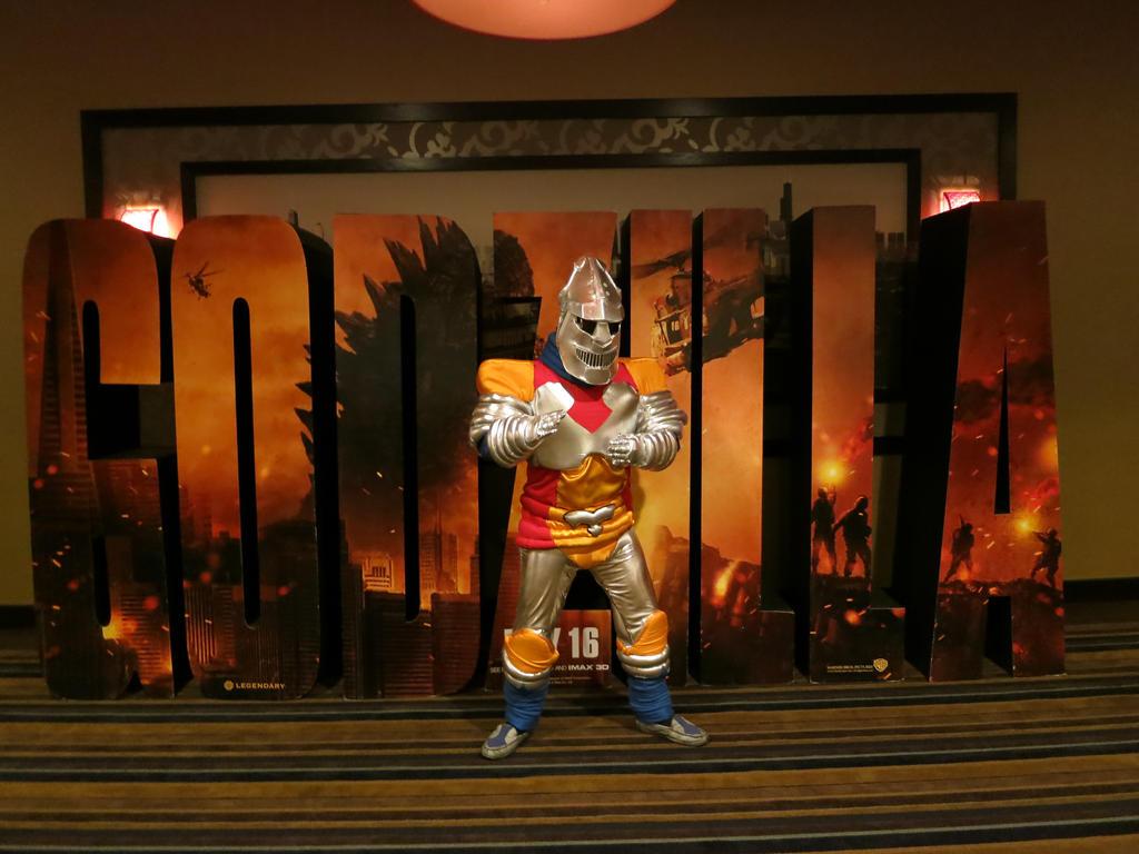 Memories of G-Fest: The Metal Warrior by kaijukid