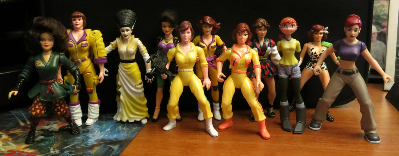 Kaijukid's Toychest:  The April O'Neil Collection by kaijukid