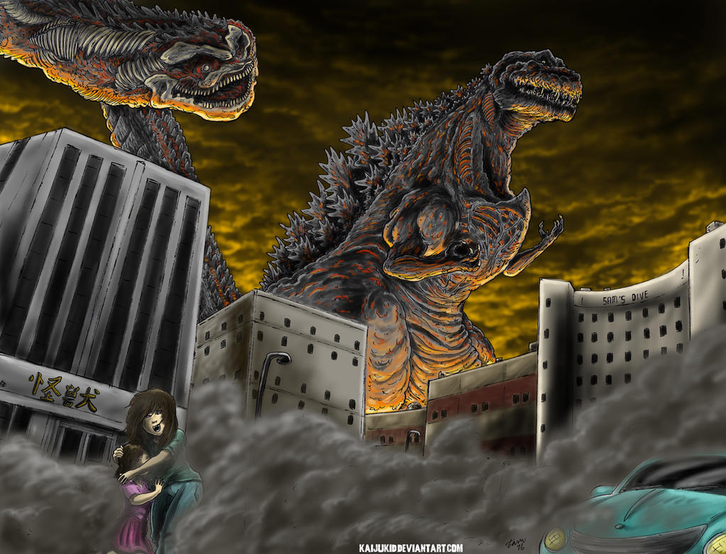 The Shadow of Death by kaijukid
