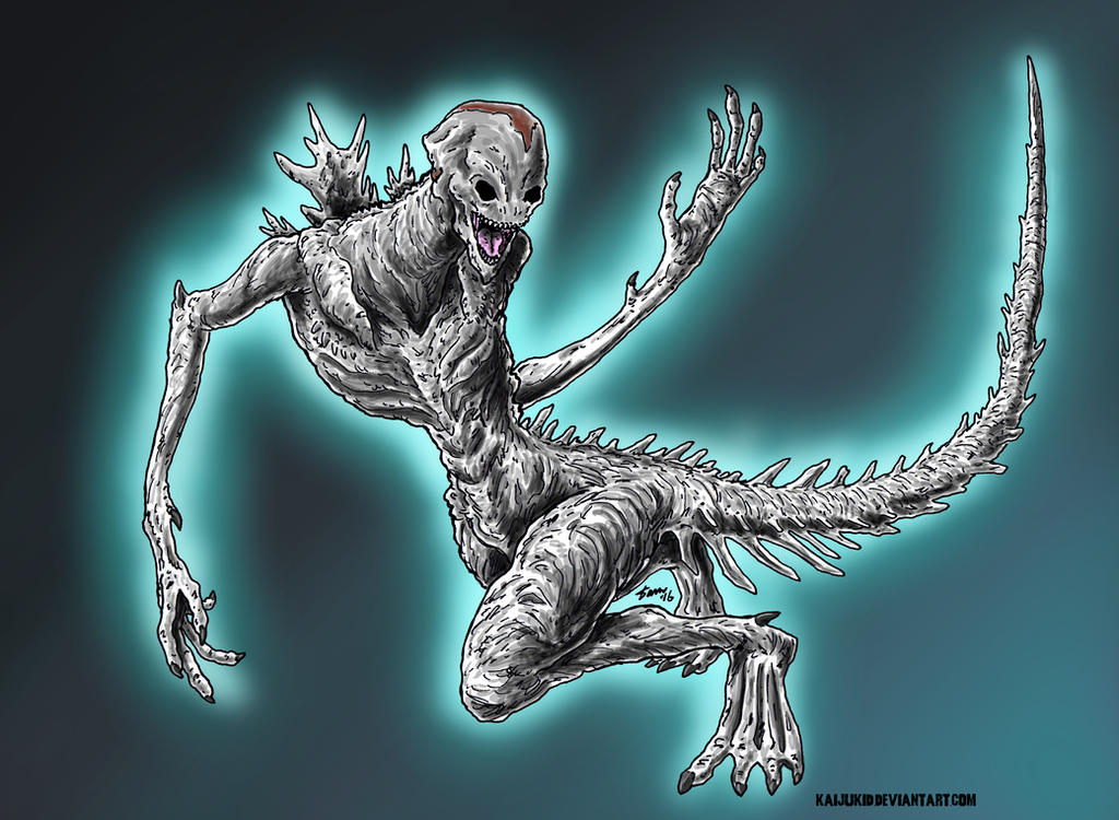 The Shin Godzilla Hybrid, version 1 by kaijukid on DeviantArt