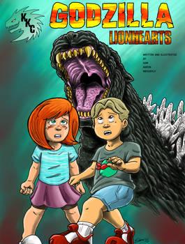 Godzilla Lionhearts Front Cover
