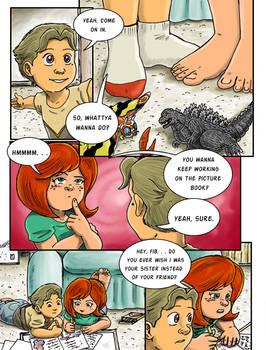Godzilla Lionhearts, Page 2