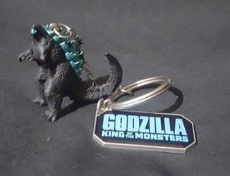 Kaiju Toybox: KOTM Godzilla Keychain by KaijuKid