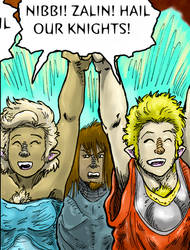 Lady Knights Of The Goffren, Page 181 Preview