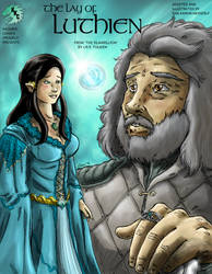The Lay of Luthien Storybook, Front Cover by KaijuKid