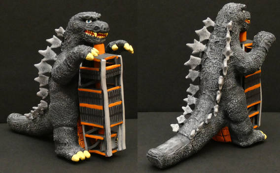 Kaiju Toybox: Godzilla Tower Custom