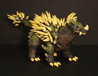 Kaiju Toybox: Custom GMK Anguirus