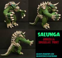 Kaiju Toybox: Salunga Custom, Godzilla SP