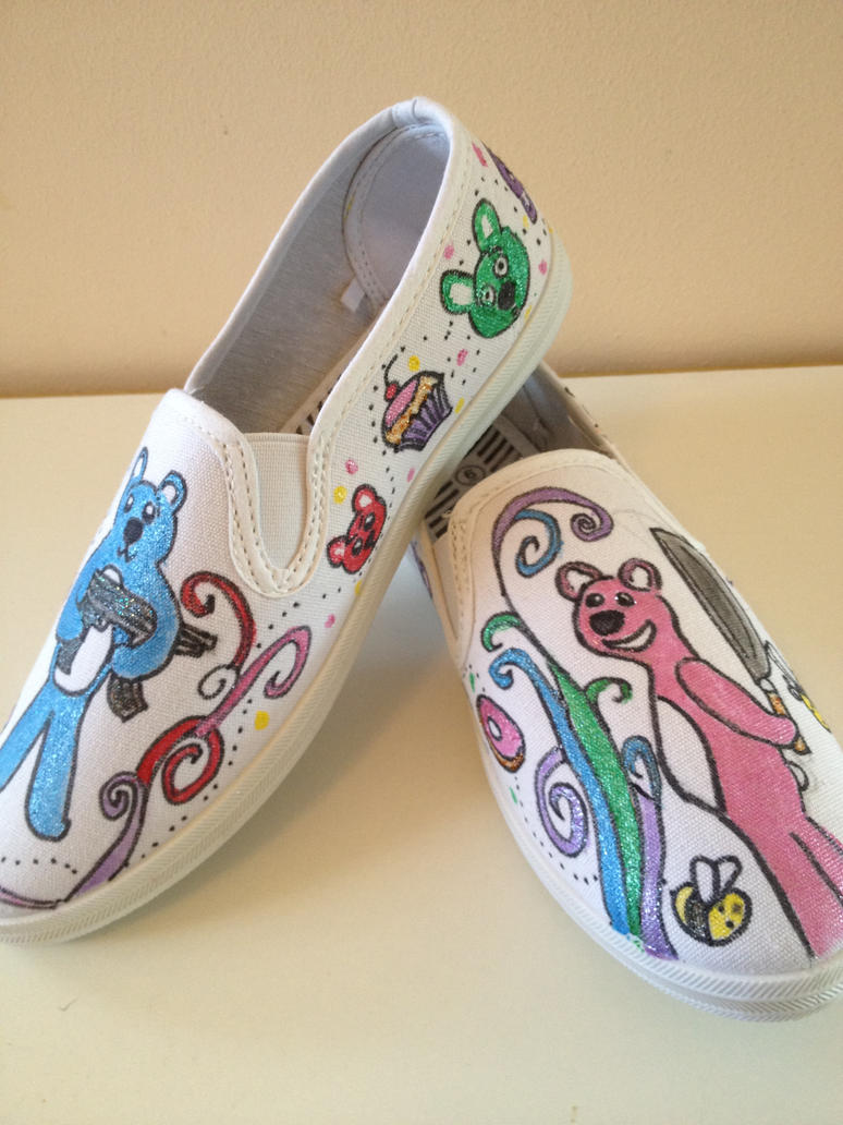 Bethy-Bee-Bear shoes by missMaxx