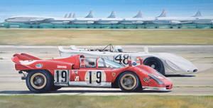 Sebring 1970 - Ferrari 512s and Porsche 908/02