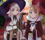 Fire Emblem Fates Velouria and Selkie