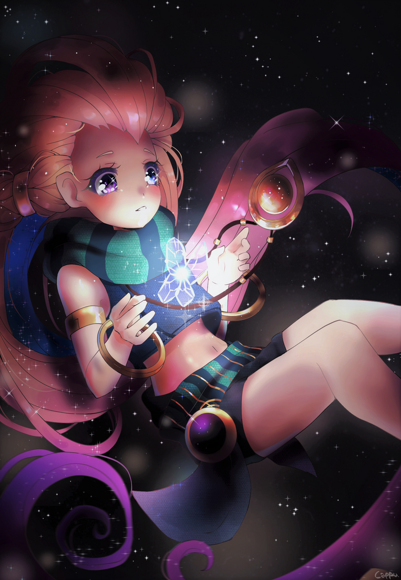 Akane Nami, The Absence of Light [FINISHED] Zoe_league_of_legends_fanart_by_xcappu-dbumlfy