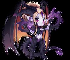 Dragon Sorceress Zyra Chibi League Of Legends