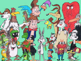 Looney Tunes, Seussified by YouHaveAShortMemory