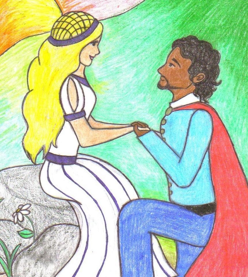 Othello and Desdemona by SeaStar114Othello And Desdemona Art