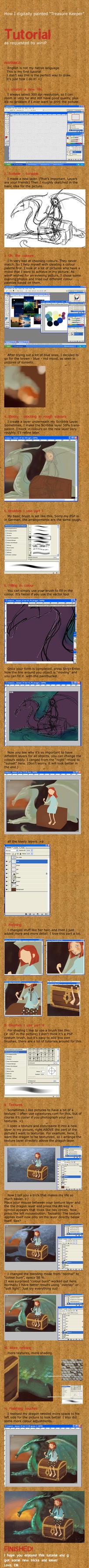 Treasure Keeper-a CG tutorial by Fuselwusel
