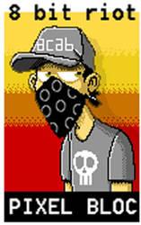 pixel bloc