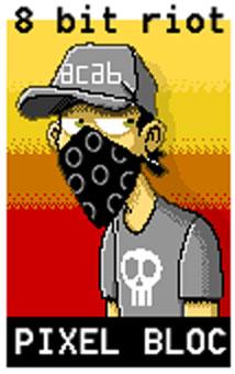 pixel bloc by zerocalcare