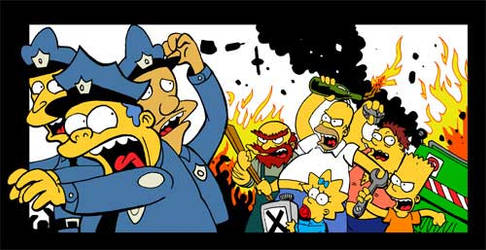 riot in springfield