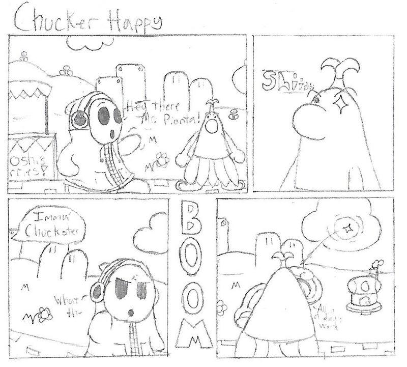 Mario Comic #1 - Chucker Happy