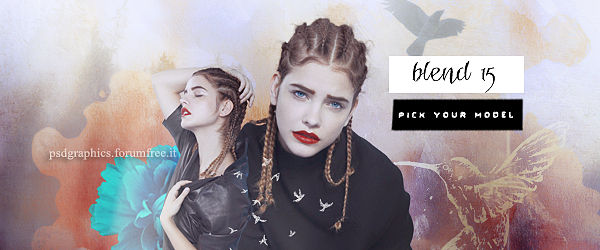 BLEND 15 || PICK YOUR MODEL || CHOOSE ONE